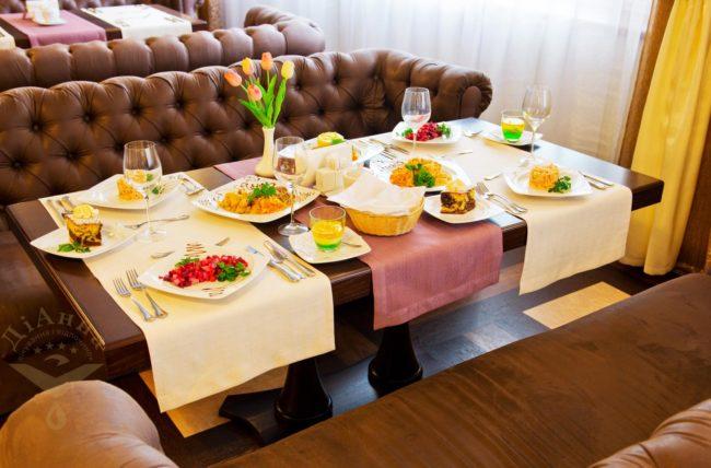 ресторан Бєлий Лев ДіАнна